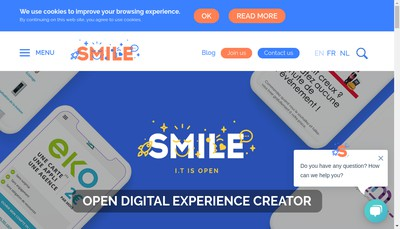 Site internet de Smile