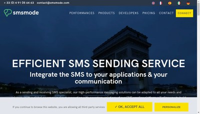 Site internet de Calade Technologies
