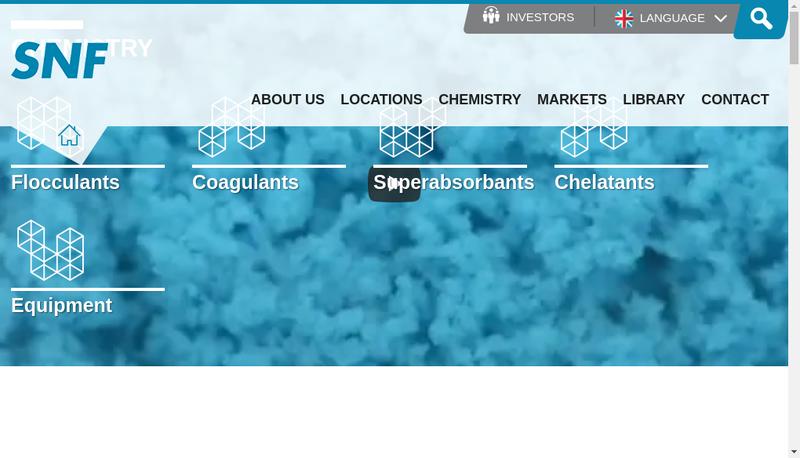 Capture d'écran du site de SPCM SA
