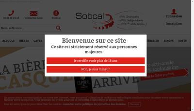 Site internet de Sobcal Toulousaine