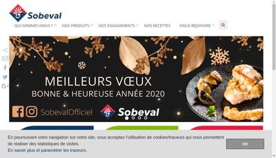 Site internet de Sobeval
