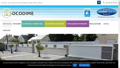 Site internet de Socodime