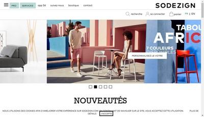 Site internet de Sodezign