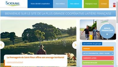 Site internet de Societe de Diffusion Internationale Agro-Alimentaire