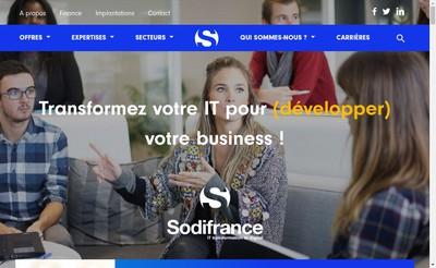 Site internet de Anteo Consulting