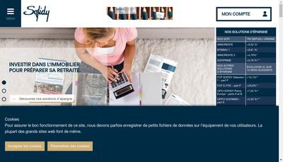 Site internet de Sofidy SA