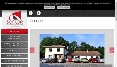 Site internet de Societe Fiduciaire et Comptable Lorraine