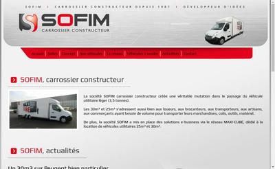Site internet de Sofim