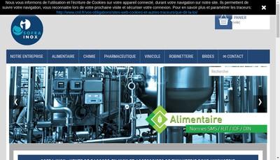 Site internet de Sofra Inox