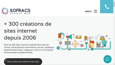 Site internet de Sofracs