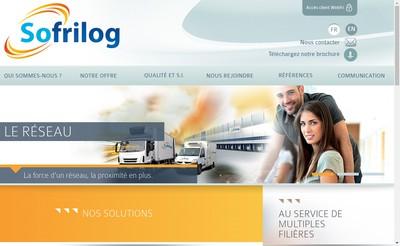 Site internet de Sofrilog Trappes