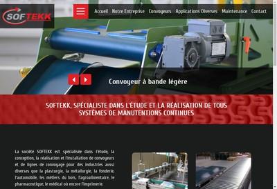Site internet de Softekk