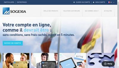 Site internet de Corpedia Financial