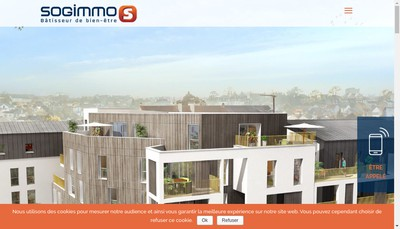 Site internet de Sogimmo