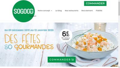 Site internet de Sogood