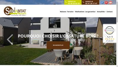 Site internet de So Habitat