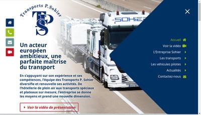Site internet de Patrick Sohier SAS