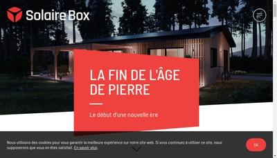 Site internet de SolaireBox