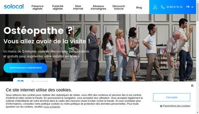 Site internet de Etablissement de Pompes Funebres de Rocheserviere