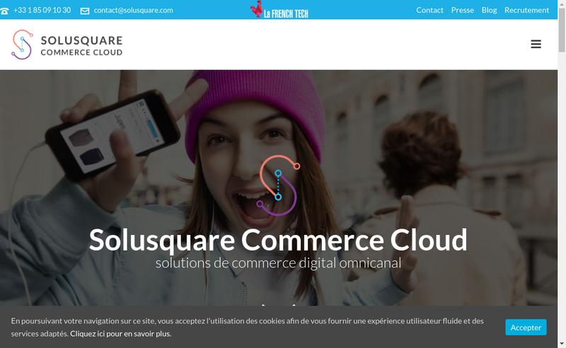 Capture d'écran du site de Boutique Builder