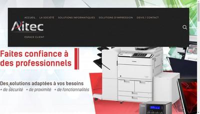 Site internet de Aitec
