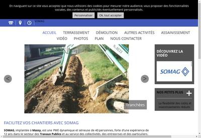 Site internet de SARL Somag