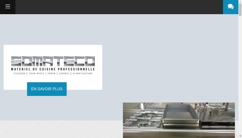 Capture d'écran du site de Somateco