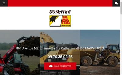 Site internet de Somatra