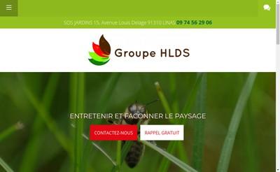 Site internet de Sos Jardins