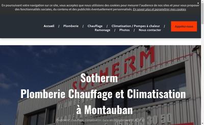 Site internet de Sotherm