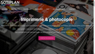 Site internet de Sotiplan