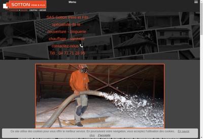 Site internet de Sotton Pere et Fils