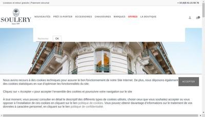 Site internet de Soulery