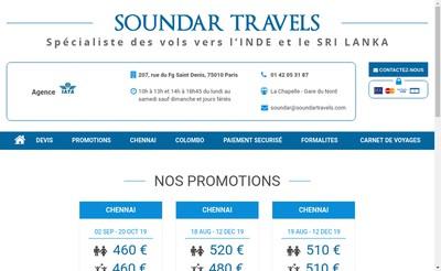 Site internet de Eva Travels