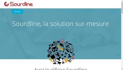 Site internet de Sourdline Developpement