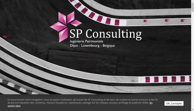 Site internet de SP Consulting