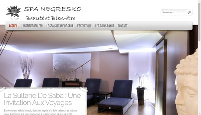 Site internet de Le Negresko