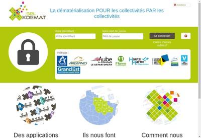 Site internet de Spl-Xdemat
