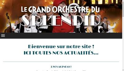 Site internet de Le Grand Orchestre du Splendid