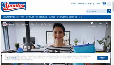 Site internet de Spontex
