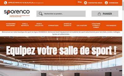 Site internet de Sporenco