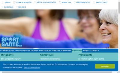 Site internet de Federation Fr Educat Physiq Gym Volontai
