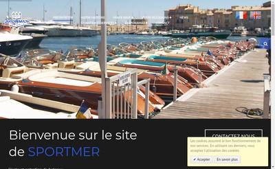 Site internet de Sportmer