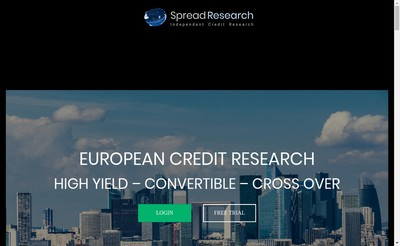 Site internet de Spread Research