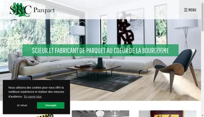 Site internet de Les Scieries Reunies du Chalonnais