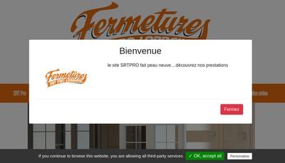 Site internet de Fermetures SRT Pro Lorraine