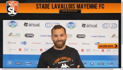 Site internet de Sasp Stade Lavallois Mayenne FC