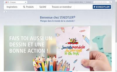 Site internet de Staedtler France
