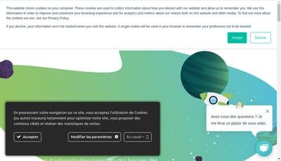 Site internet de Stafflab