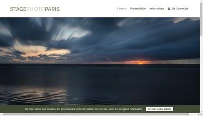 Site internet de Stage Photo Paris